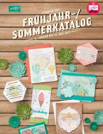 Stampin' Up! Frühjahr-Sommer-Katalog 2017 | Deutsch