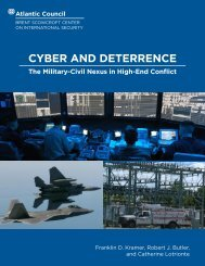 CYBER AND DETERRENCE