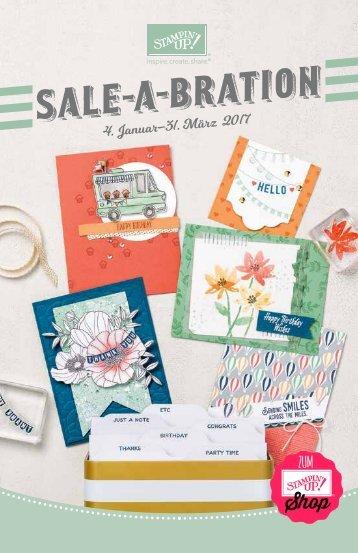 Stampin' Up! Sale-a-Bration-Katalog 2017 | Deutsch