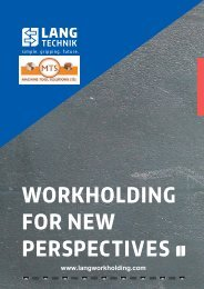 WORKHOLDING FOR NEW PERSPECTIVES