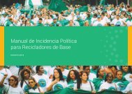Manual de Incidencia Política para Recicladores de Base