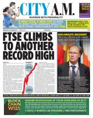 FTSE CLIMBS TO ANOTHER RECORD HIGH