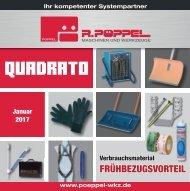 Pöppel - QUADRATO| Januar 2017