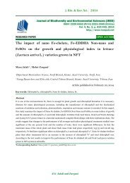 The impact of nano Fe-chelate, Fe-EDDHA Non-nano and FeSO4 on the growth and physiological index in lettuce (Lactuca sativa L.) varieties grown in NFT