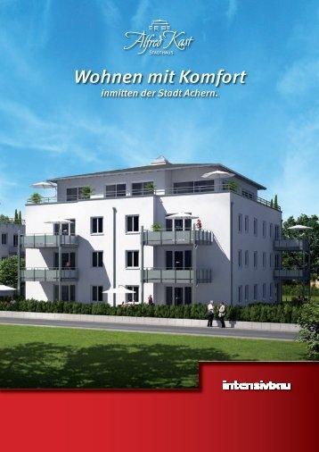 Broschüre Stadthaus Alfred Kast (PDF 7,3 MB - Intensivbau GmbH ...