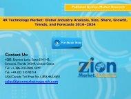 4K Technology Market, 2016 – 2024