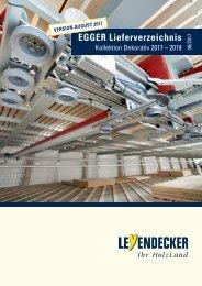 Lieferverzeichnis Egger 2017-2019