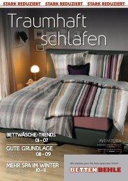 Traumhaft schlafen (stark reduziert) - Betten Behle Soest