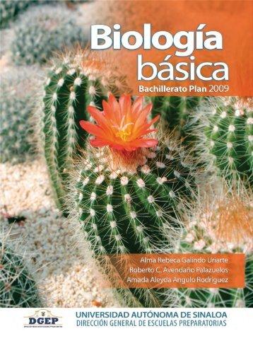 Biología Básica - Bachillerato