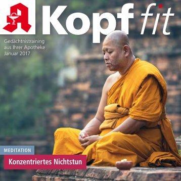 "Leseprobe ""Kopf-fit"" Januar 2017"