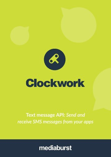 Text message API Send and receive SMS messages from your apps