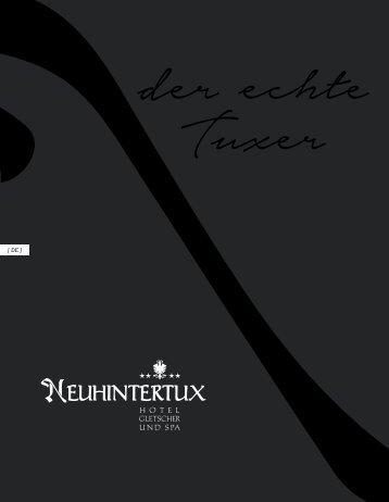 Neuhintertux Broschüre