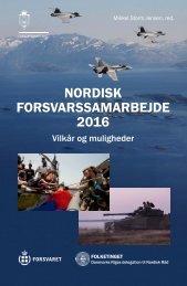 NORDISK FORSVARSSAMARBEJDE 2016