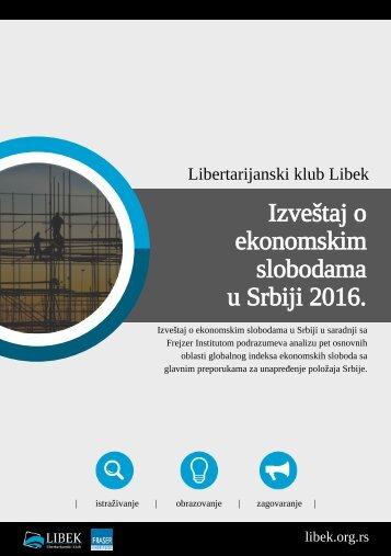 ekonomskim slobodama u Srbiji 2016