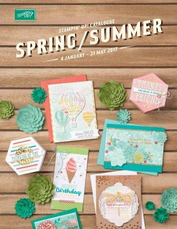 Lente/zomer catalogus 2017