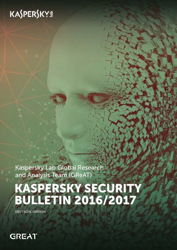 KASPERSKY SECURITY BULLETIN 2016/2017