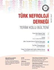 2 3 4 6 9 - Türk Nefroloji Derneği