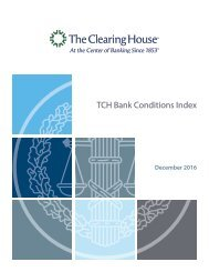 TCH Bank Conditions Index