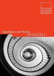 2010/2011 - Kapellmann und Partner Rechtsanwälte