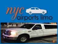 Limo Service in PA at NYC Airports Limo