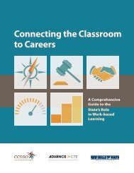 Connecting the Classroom to Careers