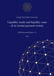 Liquidity needs and liquidity costs of an instant payment system