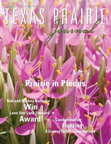 Prairie in Pieces - Native Prairies Association of Texas