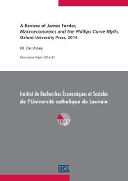 A Review of James Forder Macroeconomics and the Phillips Curve Myth