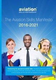 The Aviation Skills Manifesto 2016-2021