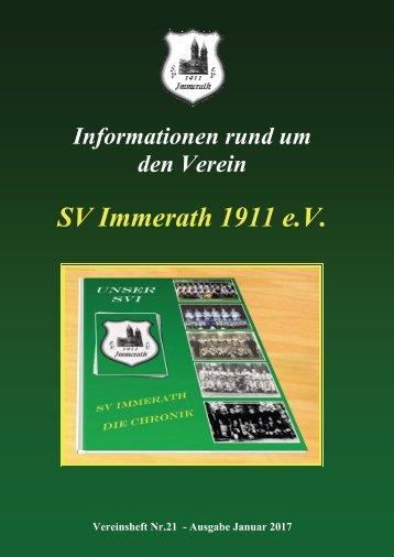 SVI Vereinsheft 21