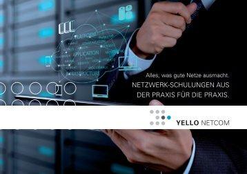 Broschüre YELLO Netzwerkschulungen DIN A5 quer 01-2017 web