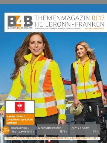 BERUFSKLEIDUNG & ARBEITSSCHUTZ | B4B Themenmagazin 01.2017