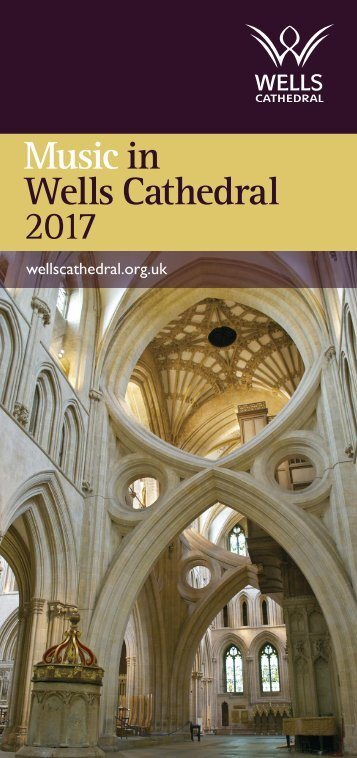 Music in Wells Cathedral 2017