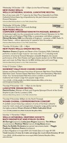 Music in Wells Cathedral 2017 - Page 7