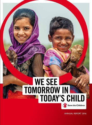 We see tomorrow in today's child