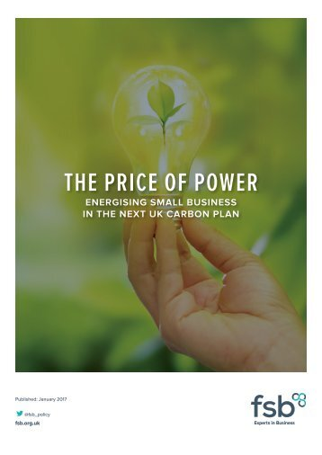 THE PRICE OF POWER