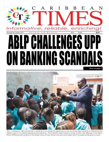 Caribbean Times 69th Issue - Thursday 5th January 2017