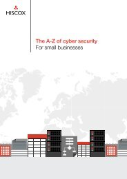 The A-Z of cyber security For small businesses