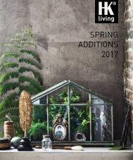 HKliving Spring Additions 2017 Katalog