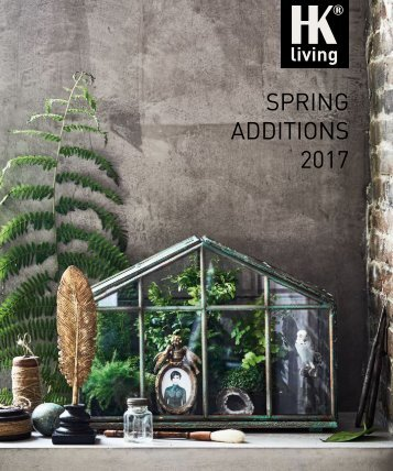 HKliving Spring Additions 2017 Katalog