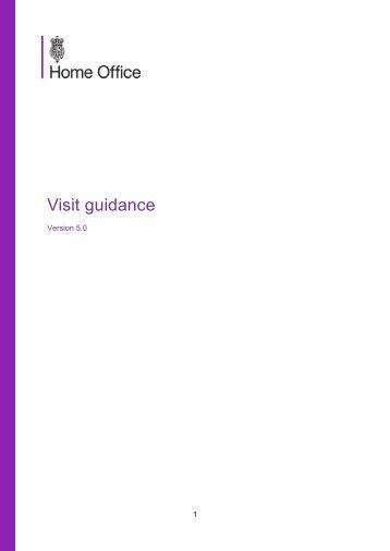 Visit guidance