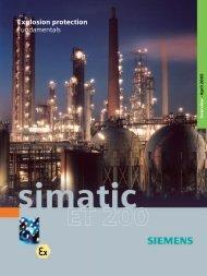 Explosion protection - Fundamentals - Siemens