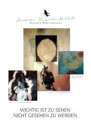 2005, Andres Kreienbuehl, Contemporary Art
