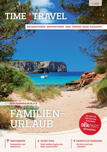 DERPART Time2Travel - Ausgabe 01/2017