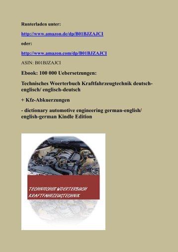Auto-Woerterbuch