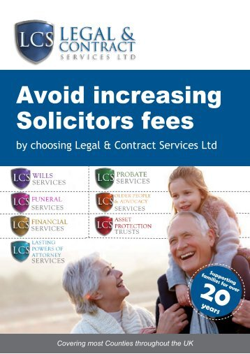 Avoid increasing Solicitors fees