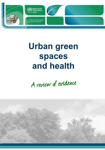 Urban green spaces and health