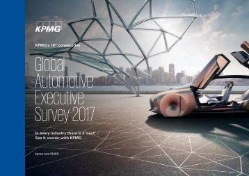 Global Automotive Executive Survey 2017
