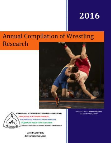 wrestling research paper Wrestling the sport of gods greek wrestling, also known as ancient greek wrestling, was the most popular organized sport in ancient greece a very grueling.