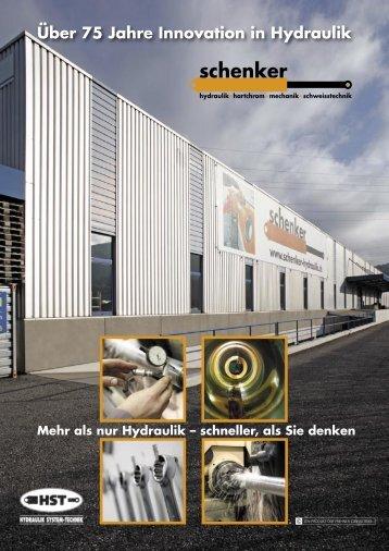 Schenker Hydraulik.indd - Schenker Hydraulik AG / HST GmbH